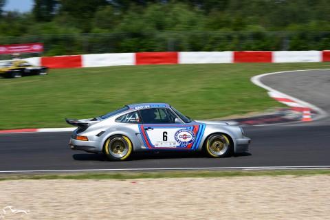 AVD Porsches Carrera RSR n°6 of Juan Pablo Briones