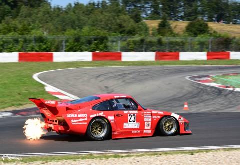 AVD Porsches 935 K3 n°23 of Andre Lotterer and Ralf Heisig