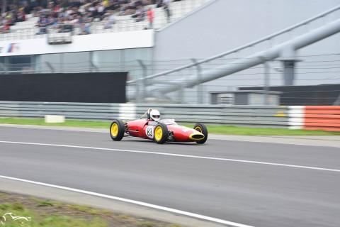 AVD Lotus 22 n°83 of Arlette Müller going full throttle