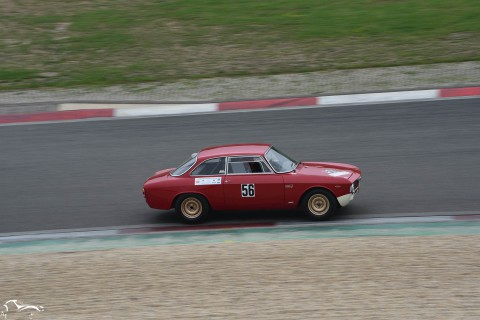 AVD Alfa Romeo Giulia Sprint GTA n°56 of Kurt Vogel