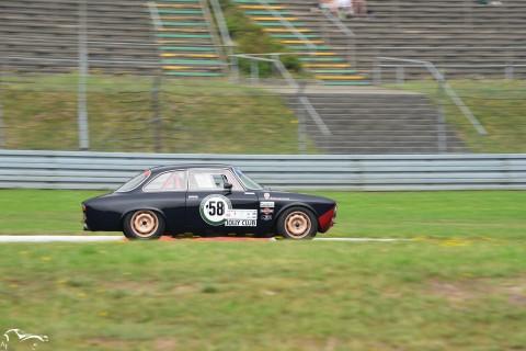 AVD Alfa Romeo Giulia Sprint GT n°58 of Cees Van Haver