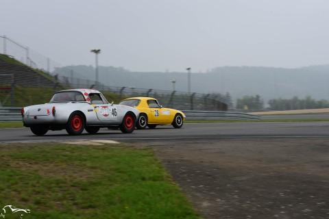AVD Alfa Romeo Giulia Spider n° VS Lotus Elan