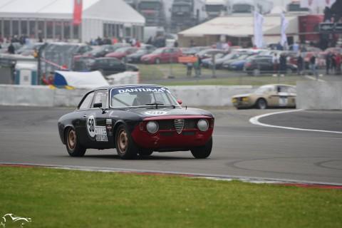 AVD Alfa Romeo Giulia Sprint GT n°58 of Cess van Haver