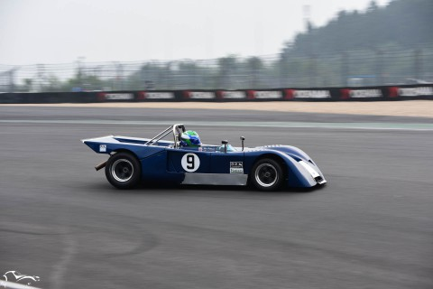 AVD Chevron B19 n°9 of Max Smith-Hilliard and Nick Padmore