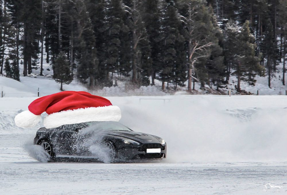 Happy Christmas ! Aston Martin Christmas car hat