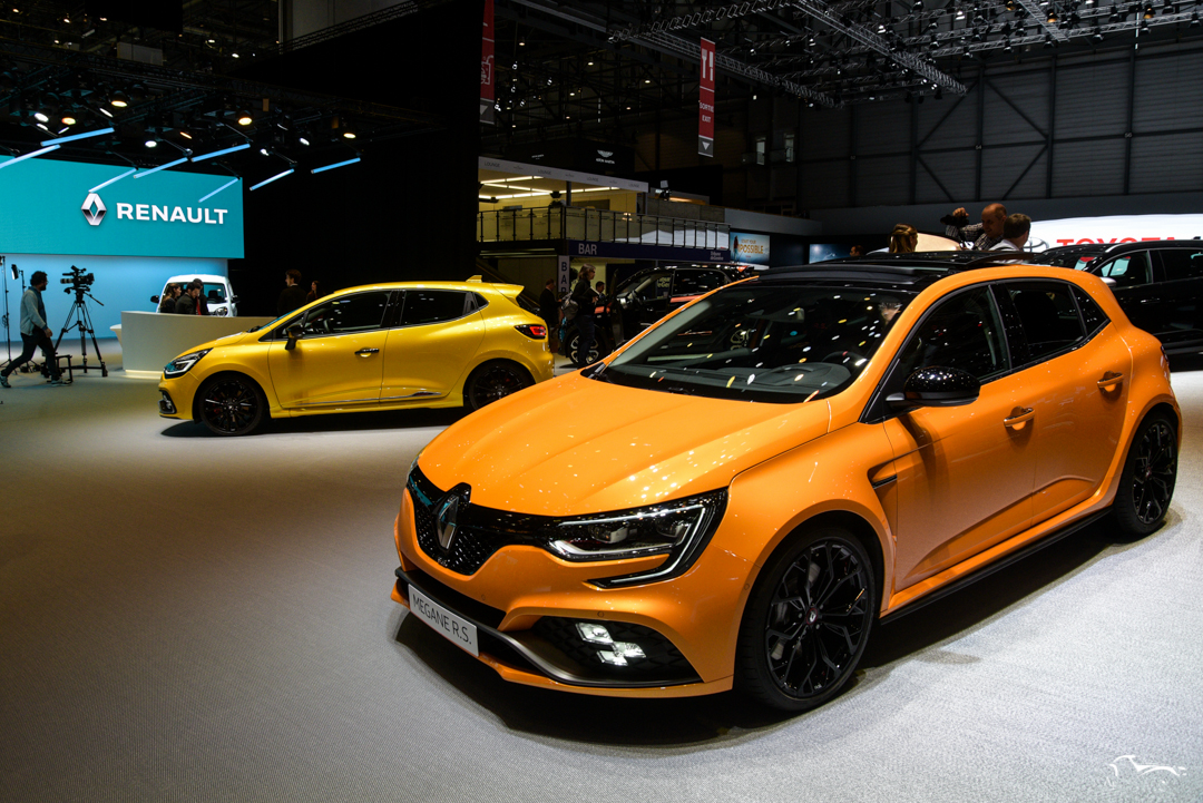 Renault Clio RS & Megane RS