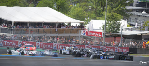 Dunlop Corner during 'Road to Le Mans'