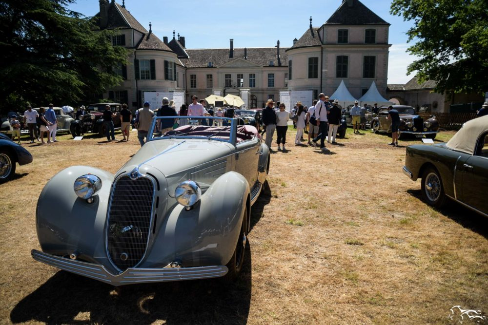 Alfa Romeo 6C 2300 BMM (Winner of the Concours d'Elegance)