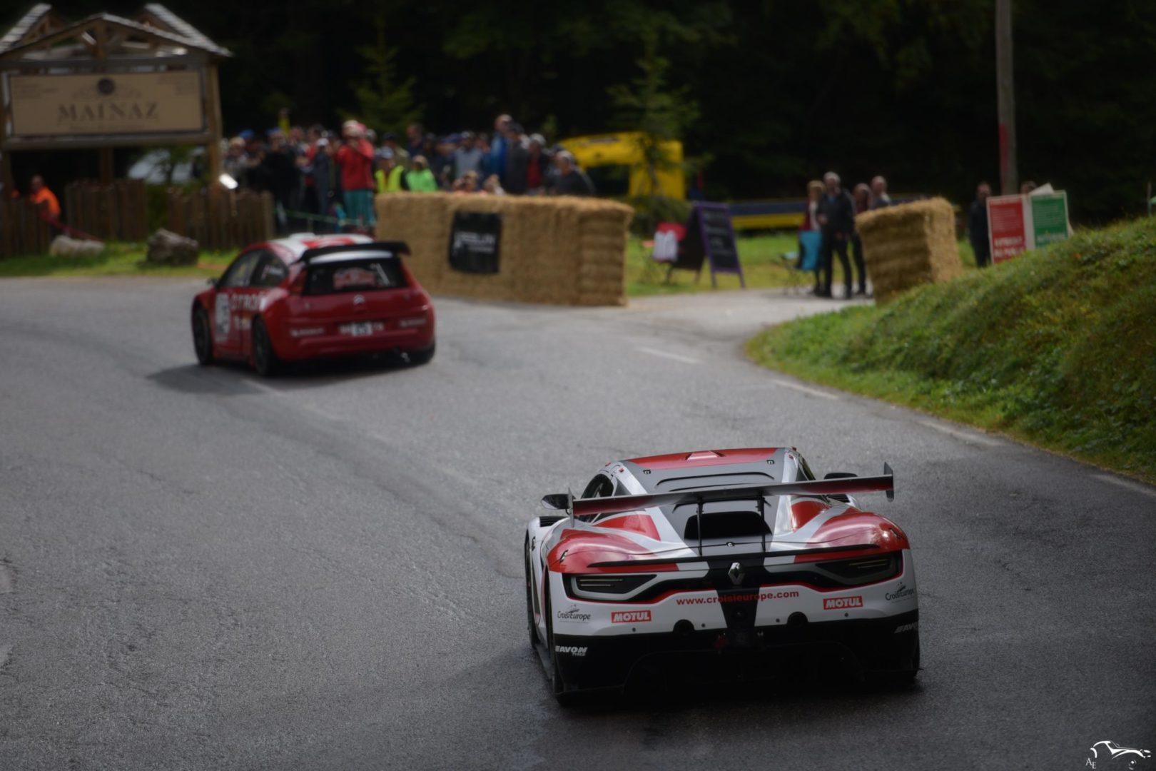 Citroën C4 WRC Loeb & Renault R.S. 01