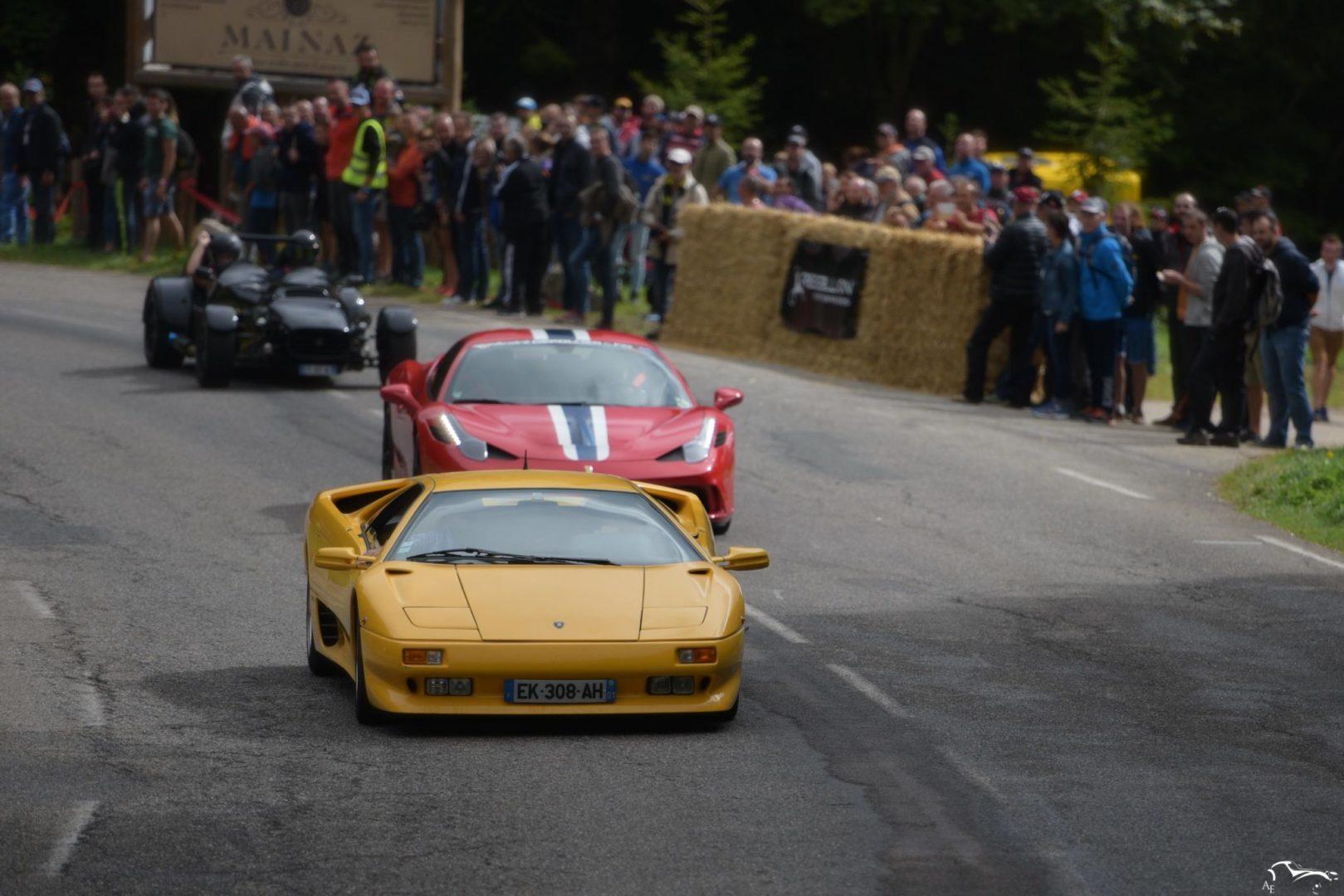 Lamborghini Diablo & Ferrari 458 Speciale