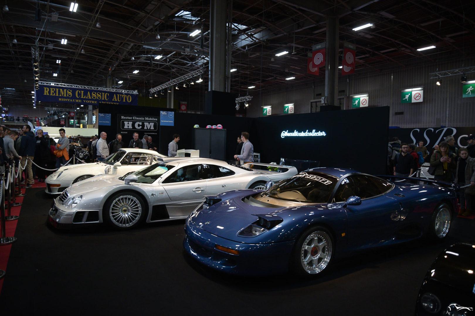 Mercedes Benz CLK GTR & Jaguar XJR-15