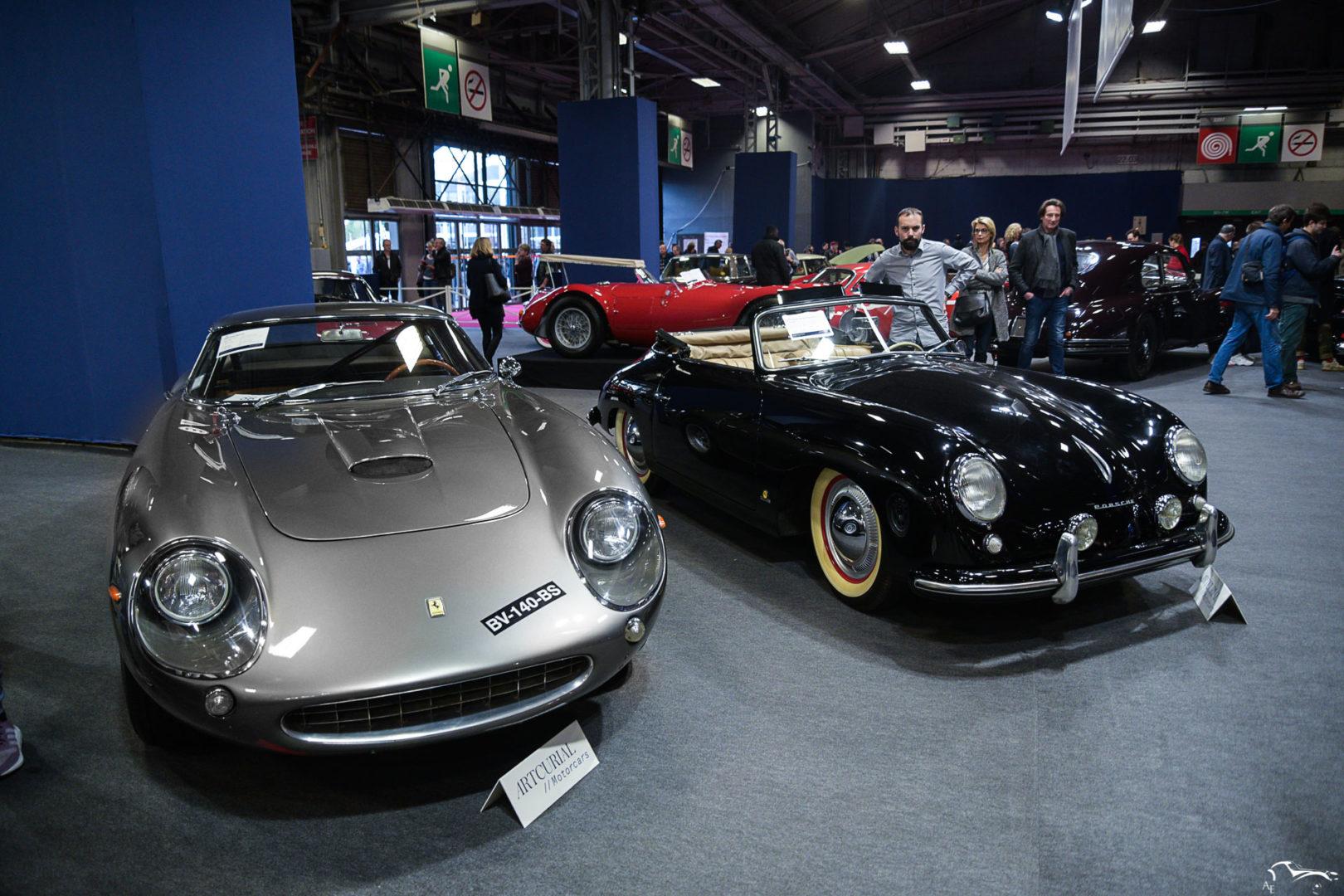 Ferrari 275 GTC & Porsche 356
