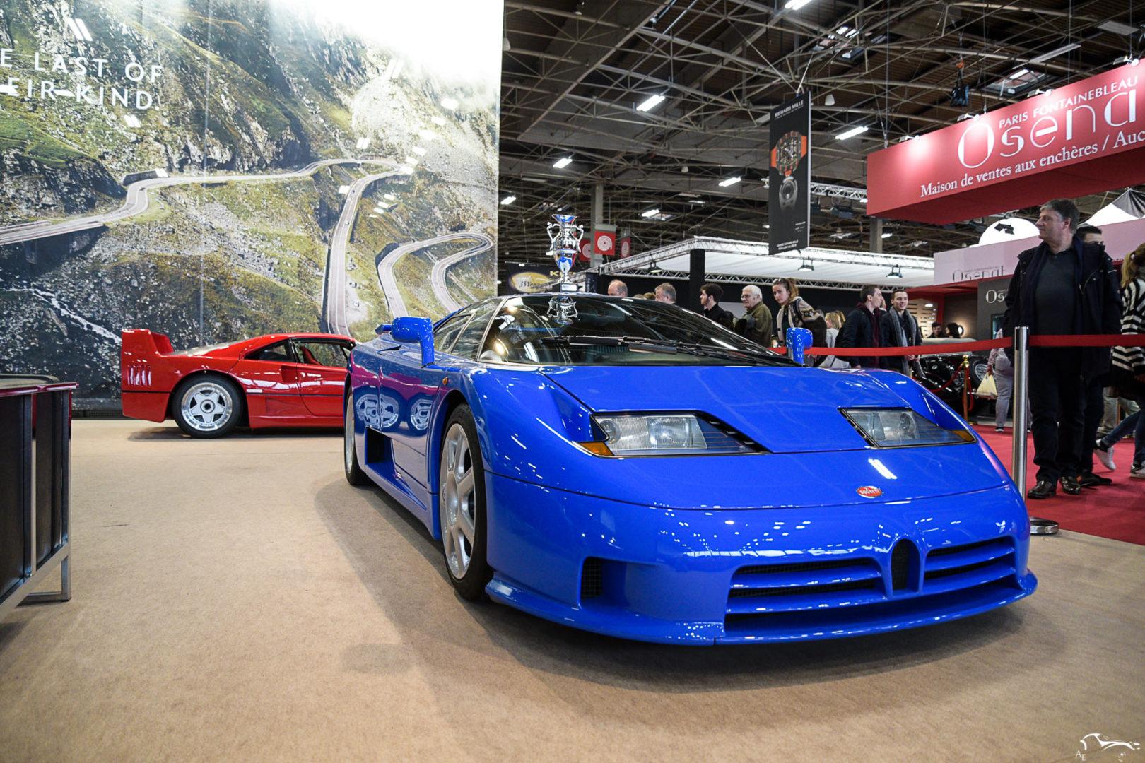 Ferrari F40 & Bugatti EB110