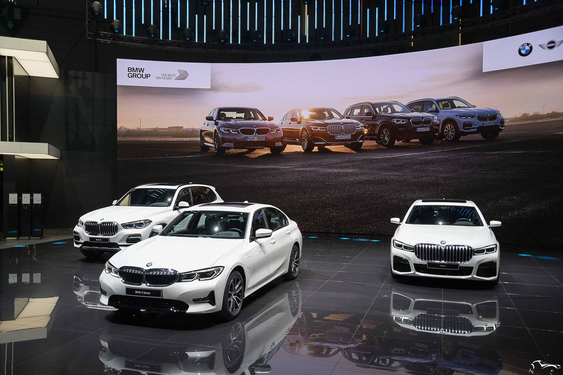BMW 3, X5 and the 7