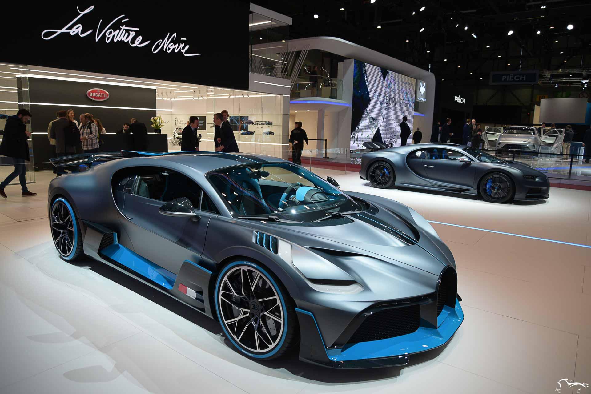 Bugatti Divo & Chiron 110