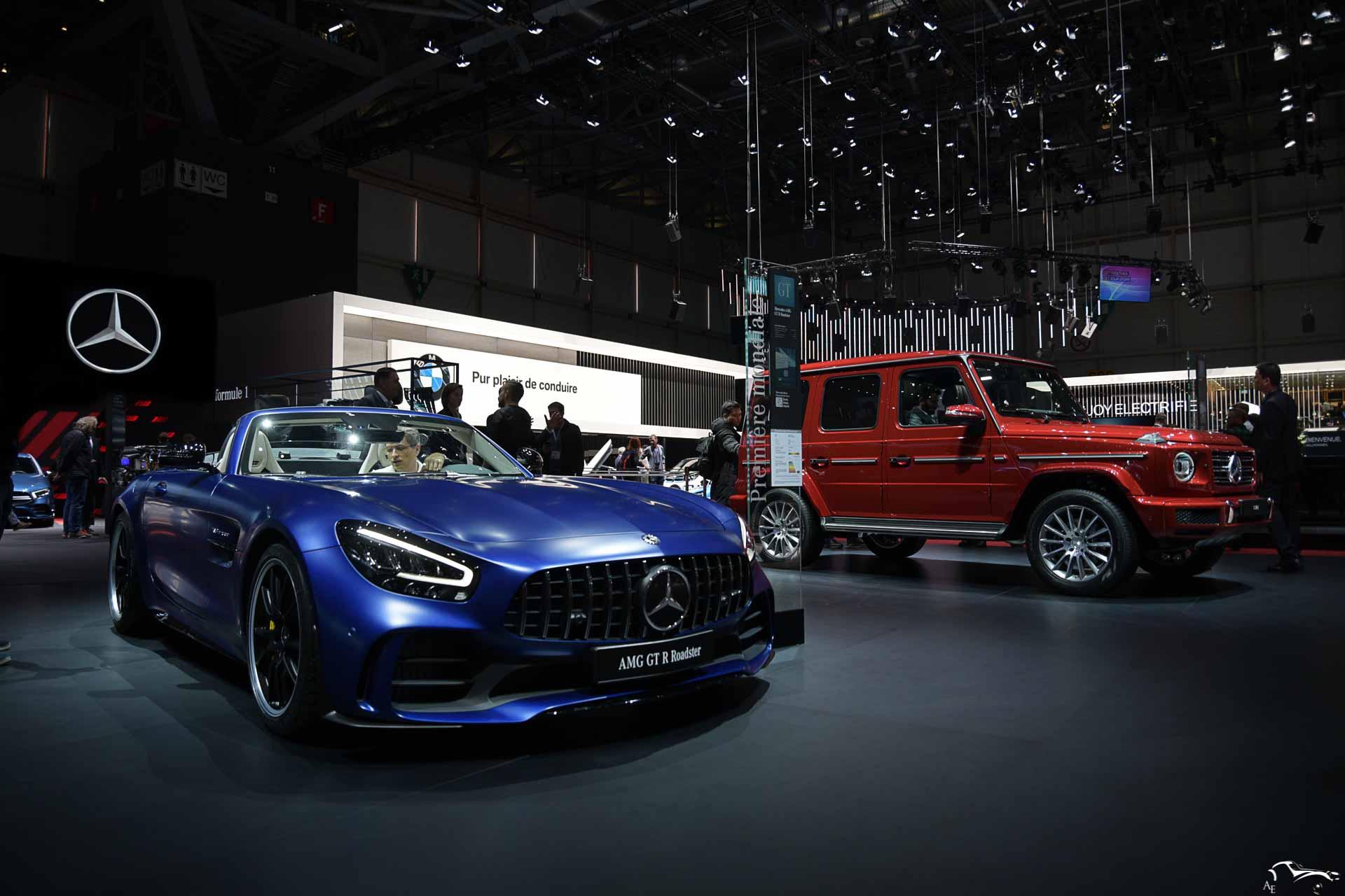 Merceds-Benz AMG GT-R & G