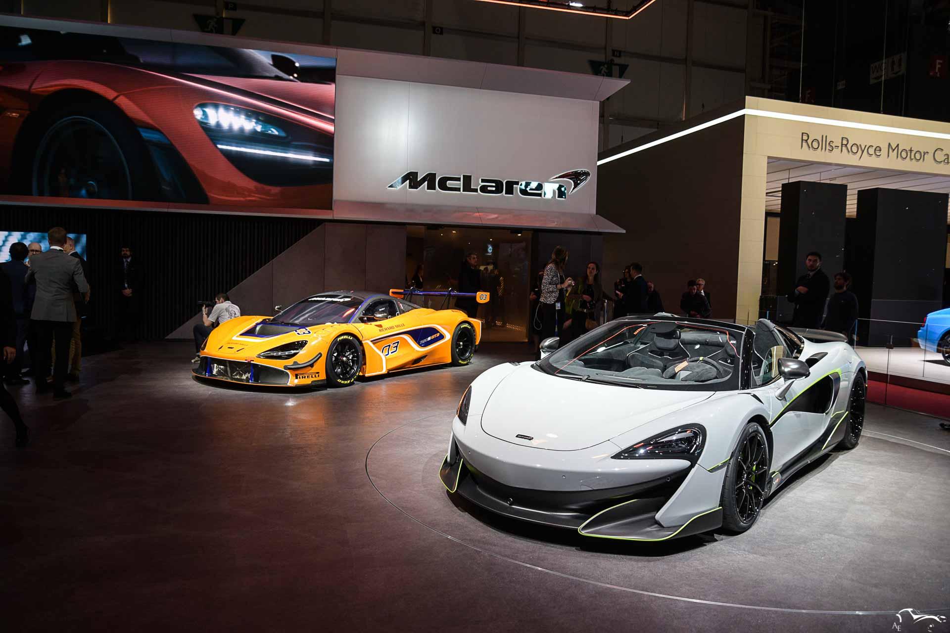 McLaren 650 & 720S GT3