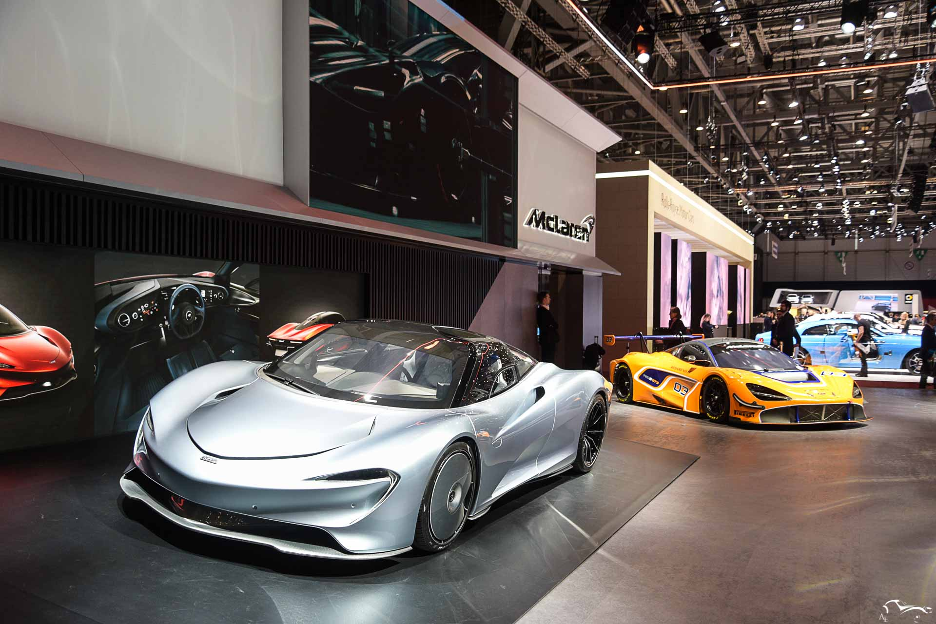 McLaren Speedtail & 720S GT3