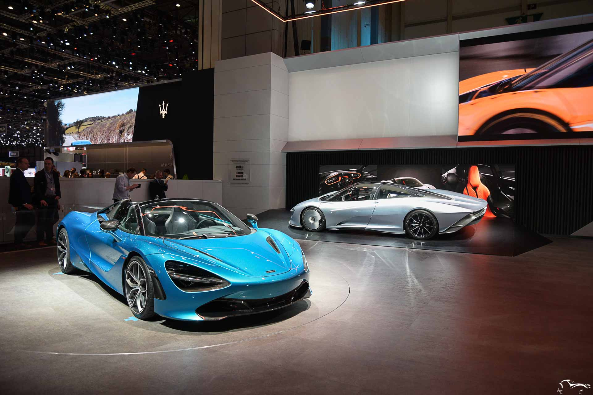 McLaren Speedtail & 720S