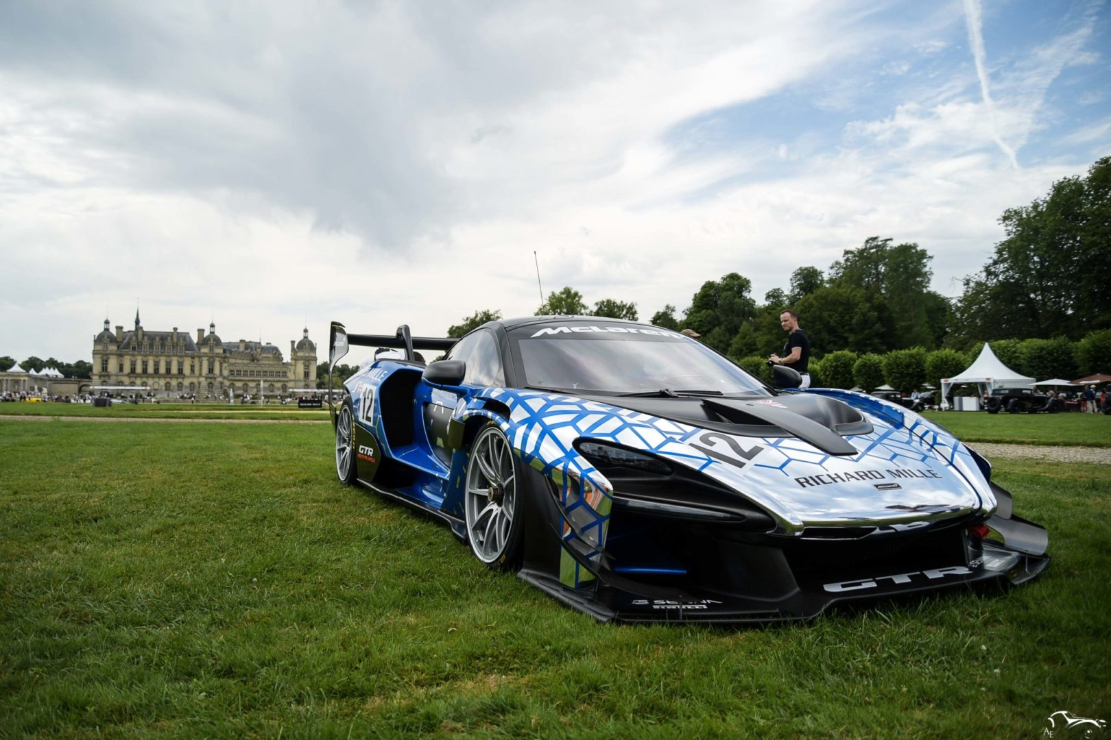 McLaren Senna GTR Chantilly