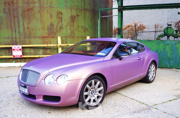 Kobe Bryant Bentley Continental GT