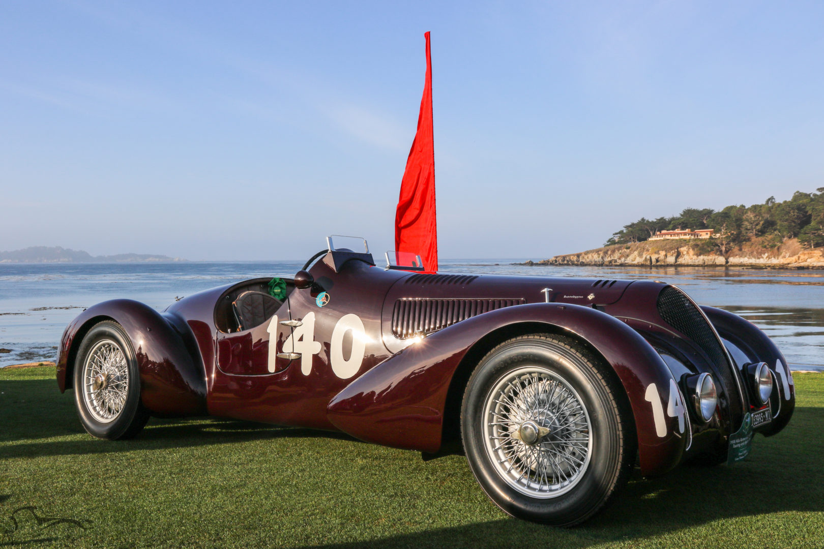 2015 Pebble Beach Concours d'Elegance - Alfa Romeo 6C 2300B MM Spider Corsa