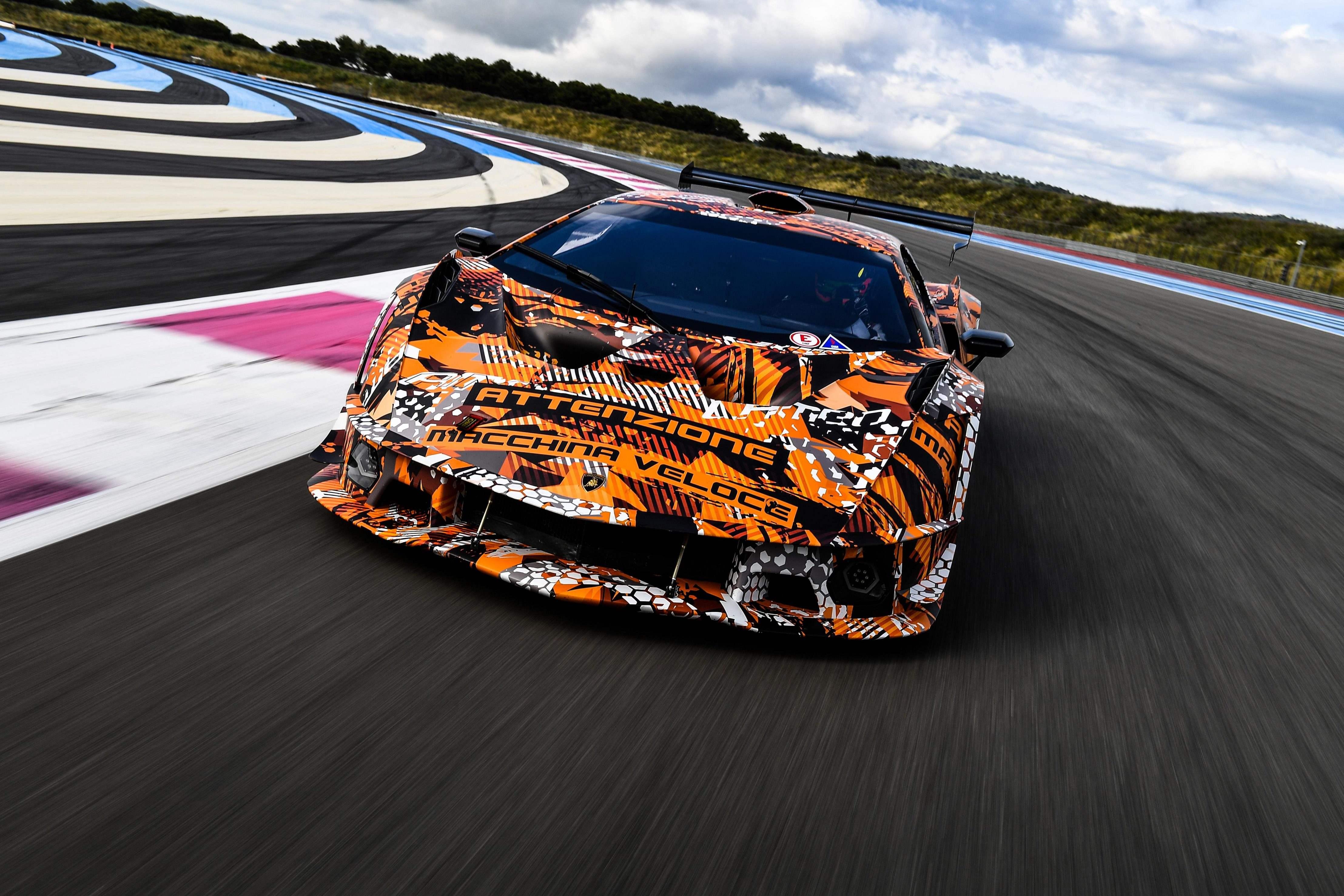 Lamborghini SCV12 hypercar