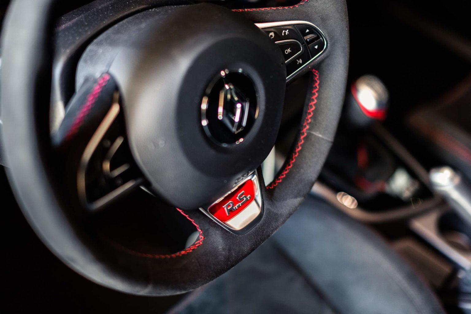 Renault Megane RS Trophy-R Steering Wheel