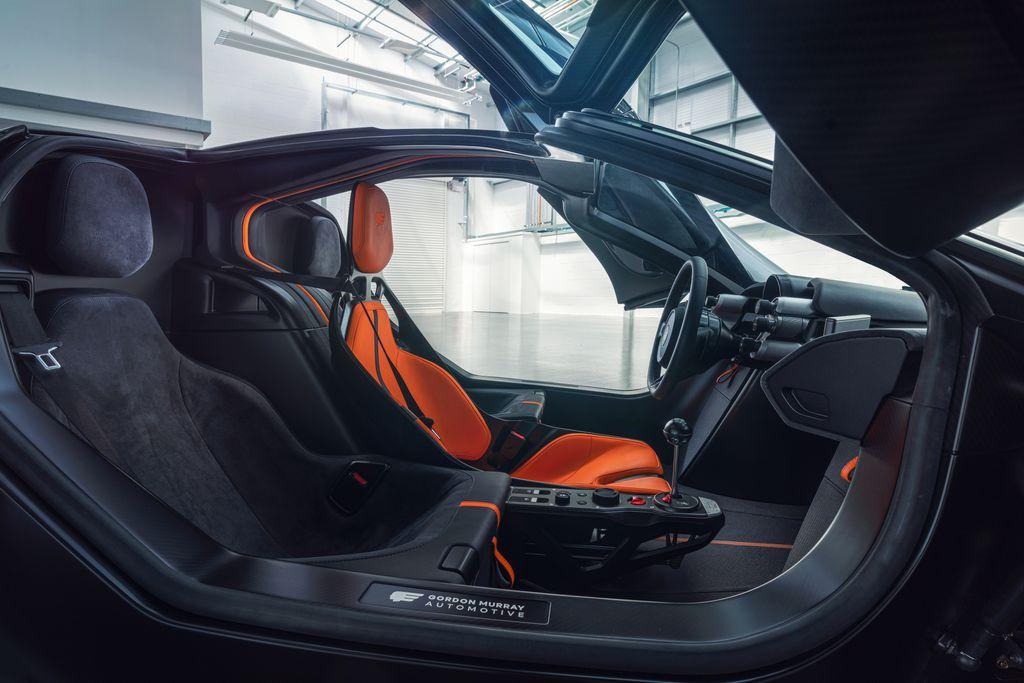 Gordon Murray Automotive T50 Interior